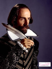 Maloviere as William Shakespeare (Susan Scott's Lookalikes)
