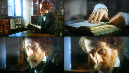 "Maloviere as Charles Dickens, BBC1's ""Oliver"", 2006"